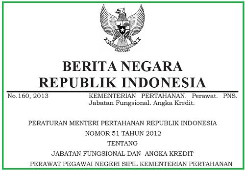 Jabatan_Fungsional_Perawat dan_Angka_Kredit_PNS_Kementerian_Pertahanan