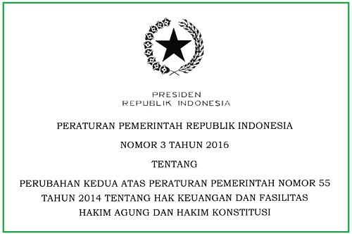 Hak Keuangan dan Fasilitas Hakim Agung dan Hakim Konstitusi