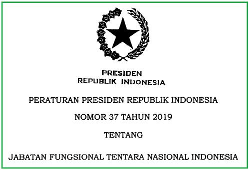 Jabatan Fungsional Tentara Nasional Indonesia